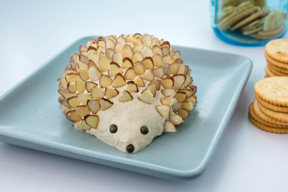 Vegan Cheese Hedgehog