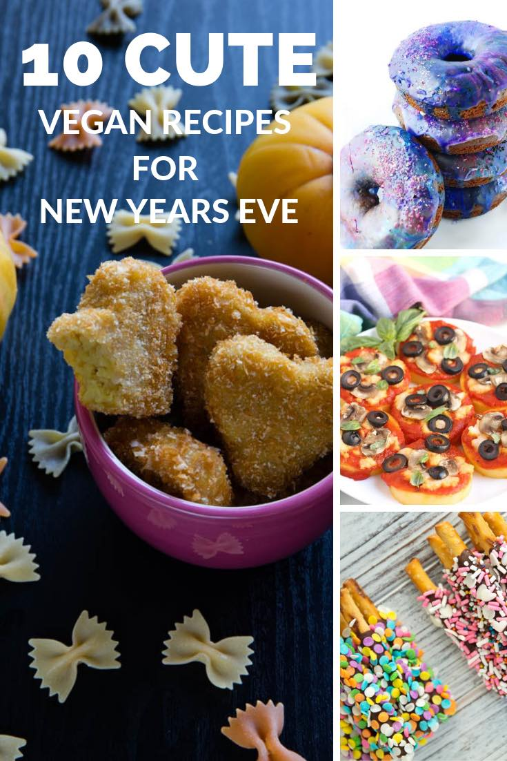 Cute Vegan Snacks for a Fun New Year's Eve