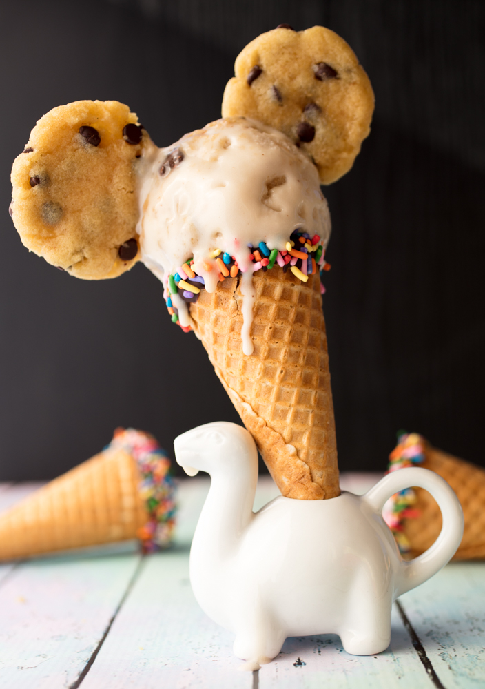 Vegan Chocolate Chip Cookie Dough Ice Cream