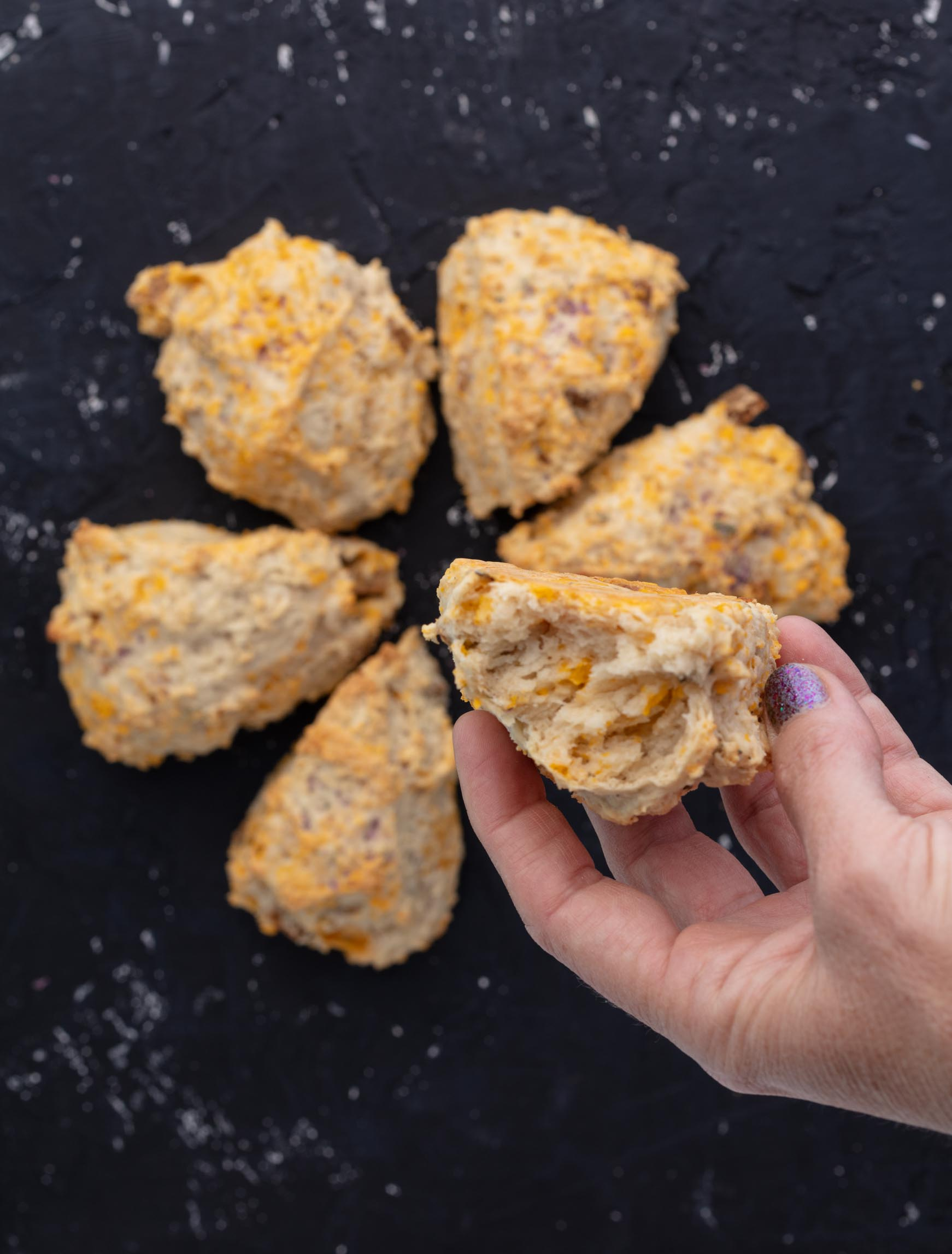 savory vegan scones